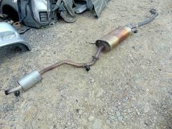 Выхлопная труба. Mazda MPV, LWEW Двигатель FS