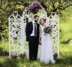 Оформление торжества. Свадебные арки, ширмы, столики, колонны.