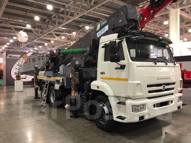 Horyong. Новинка 2018 года, 54-метровая автовышка от компании Elephant-., 54м.