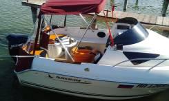 Quicksilver. 2007 год год, длина 5,25м., двигатель подвесной, 90,00л.с., бензин