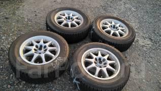 """Продам комплект колес ( 829-А ) на японском литье. 6.0x14"""" 4x100.00, 4x114.30 ET38 ЦО 72,0мм."""