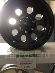 "Диски 16*8/6*139.7 we -25 MT d110.1 Matt Black. 8.0x16"", 6x139.70, ET-25, ЦО 110,1 мм."