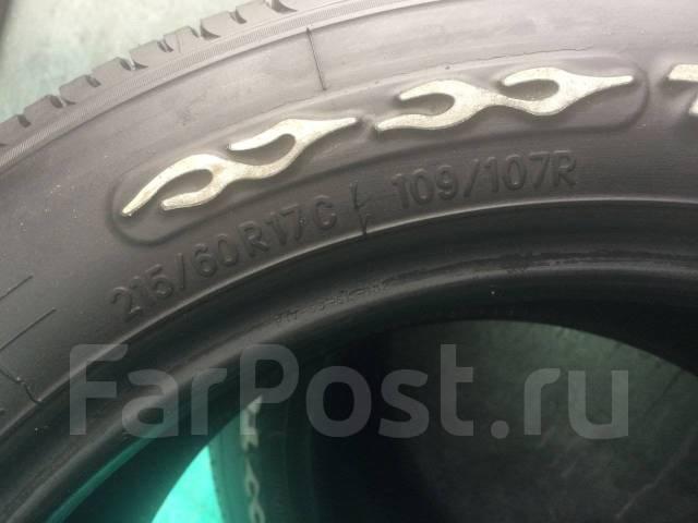 Toyo H20, 215/60 R17. Летние, 2012 год, 20%, 1 шт