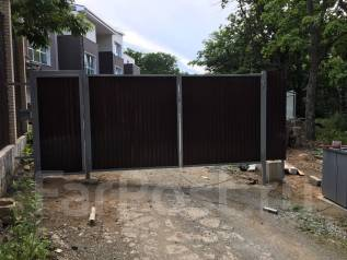Без предоплаты, монтаж ворот, заборов, ремонт