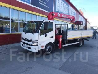 Hino 300. Продаётся грузовик Hino с манипулятором Unic, 3 000кг.