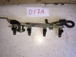 Топливная рейка. Honda: FR-V, Edix, Stream, Civic, Civic Ferio Двигатели: D17A2, K20A9, N22A1, R18A1, D17A, K20A1, 4EE2, D14Z5, D14Z6, D15B, D15Y2, D1...