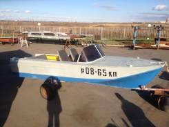 Казанка-2М. 1977 год год, длина 5,00м., двигатель подвесной, 1,00л.с.