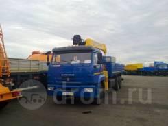 КамАЗ 65117. КМУ Камаз 65117-3010-50 (Евро-5) + Soosan + борт сталь, 11 760куб. см., 10 000кг.