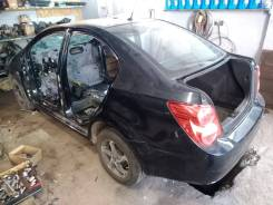 Chevrolet Aveo. T300 1.6AT 2013 год черный седан