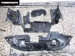 Защита бампера. Mitsubishi Outlander, CW5W, CW6W Двигатели: 4B12, 6B31