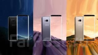 Samsung Galaxy S8. Новый, 64 Гб, Серебристый, Черный, 3G, 4G LTE