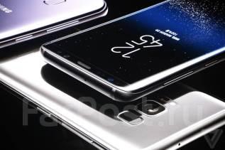 Samsung Galaxy S8+. Новый, 64 Гб, Серебристый, Фиолетовый, Черный