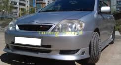 Решетка радиатора. Toyota Corolla, CDE120, CE102G, CE120, EE104G, NDE120, NZE120, ZRE120, ZZE120, ZZE120L Двигатели: 3CE, 5EFE