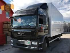 MAN TGM. 12.290, 2013г, фургон 52 м3, гидролифт, без пробега по РФ, 6 871куб. см., 7 000кг.