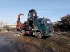 Volvo FH12. Дробилка щепоруб для дерева Heinola , 8 000куб. см., 3 500кг., 20 000,00кг.