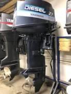 Yanmar. 27,00л.с., 4-тактный, дизельный, нога L (508 мм), 2002 год год