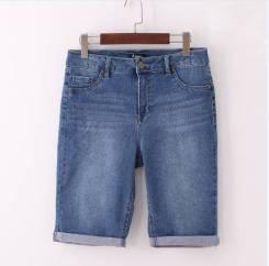 Шорты джинсовые. 48, 50, 52, 54, 56, 58