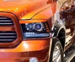 Защита фар прозрачная. Dodge Ram, DJ/DS EKG, EVC, EZH