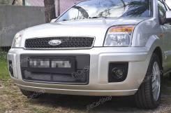 Защитная сетка переднего бампера Ford Fusion 2005-2012 Форд фьюжен. Ford Fusion, CBK Двигатели: FXJA, FXJB, FXJC, FYJA, FYJB