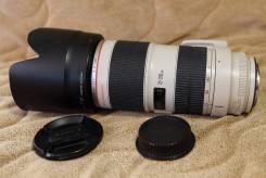 Объектив Canon EF 70-200mm f/2.8L IS II USM. Для Canon, диаметр фильтра 77 мм
