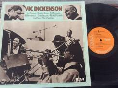 JAZZ! Вик Дикенсон / Vic Dickenson - UK LP 1974 тромбон