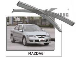 Ветровик. Mazda Mazda6, GG, GY Двигатели: AJV6, L3C1, L3KG, L813, LF17, LF18, LFF7, RF5C, RF7J