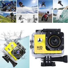 Экшн камера Sports Full HD 1080. 10 - 14.9 Мп, с объективом