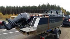 Русбот-60. 2012 год год, длина 6,40м., двигатель подвесной, 140,00л.с., бензин