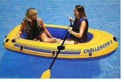 Intex Challenger. длина 2,36м., двигатель без двигателя