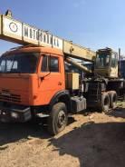 КамАЗ. Продаётся автокран Камаз мотовилиха 35 тон, 35 000кг.