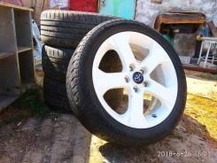 """Диски от Mazda5 5х114.3 с резиной 205/50R17. 6.5x17"""" 5x114.30 ET52.5 ЦО 67,1мм."""