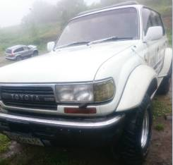 Toyota Land Cruiser. механика, 4wd, 4.2 (165л.с.), дизель, 110 000тыс. км