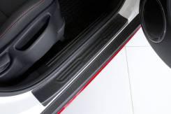 Накладка на порог. Kia Soul, PS Двигатели: D4FB, G4FD