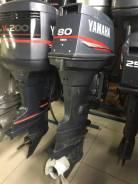 Yamaha. 80,00л.с., 2-тактный, бензиновый, нога X (635 мм), 1998 год год