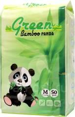 Подгузники-трусики Green Bamboo Panda M 50 шт. 7-12кг кг 50шт