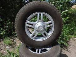Комплект зимних колес на литье УАЗ, Резина УАЗ, Литье УАЗ, Шины УАЗ.