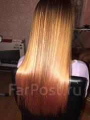 Ботокс, кератиновое восстановление волос