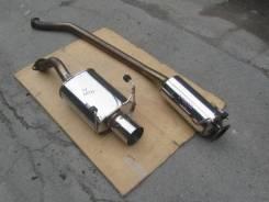 Выхлопная система. Honda Civic Type R, EP3 Двигатель K20A
