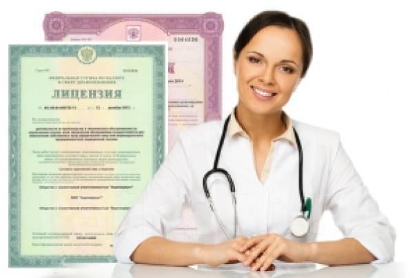 госпошлина на лицензирование медицинской деятельности