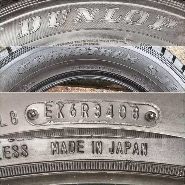Dunlop Grandtrek SJ6. Зимние, без шипов, 2008 год, 5%, 4 шт