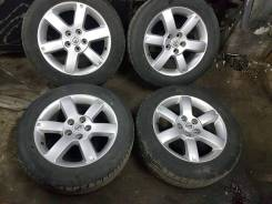 "Комплект колес 215/60/17 brigestone 4 шт + одна запаска dunlop. x17"""