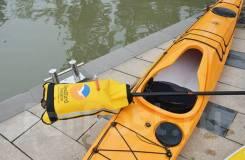 Спасательный чехол для весла каяка SeaBird Paddle float. Под заказ