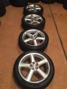 """Продам комплект колес на 17 Toyota Caldina GT с летней резиной. 7.0x17"""" 5x100.00 ET50 ЦО 73,0мм."""