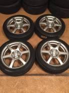 """Продам комплект колес на 16 с зимней резиной. 6.0x16"""" 4x100.00 ET42 ЦО 73,0мм."""