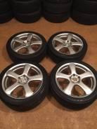 """Продам комплект колес ZINA на 18 с летней резиной. 7.5x18"""" 5x114.30 ET48 ЦО 73,0мм."""