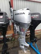 Honda. 4-тактный, бензиновый, нога L (508 мм), 2015 год год