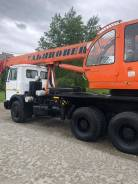 Ульяновец. Автокран 25 тонн 2010 г. в., 10 000куб. см., 25 000кг., 21м.