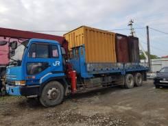 Nissan Diesel. Продаётся грузовик с крановой установкой, 5 000кг.