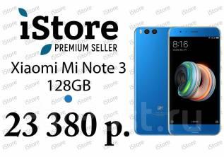 Xiaomi Mi Note 3. Новый, 128 Гб, Синий. Под заказ