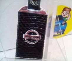 Брелок арт 109 металл черный NISSAN*